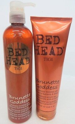 Tigi Brunette Goddess Shampoo and Conditioner 13.5 -8.45 DUO