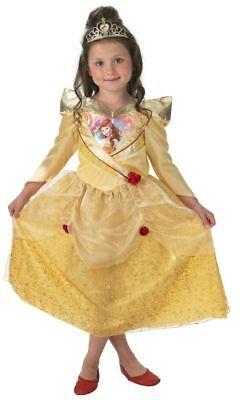 Rub - Disney Prinzessin Kinder Kostüm Belle mit Diadem (Disney Prinzessin Belle Kostüme)