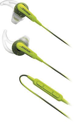 Headphones - Bose® - SoundSport® In-Ear Headphones (iOS) - Energy Green