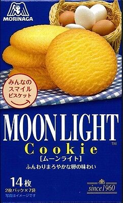 New Morinaga Moonlight 14 sheets biscuits cookies Made in Japan Free Postage F/S