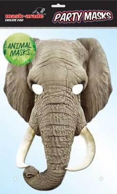 lephant - hochwertiger Glanzkarton mit Augenlöchern (Elefant Maske)