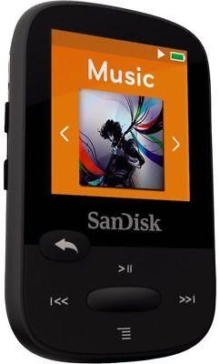 SanDisk Sansa Clip Plus Sport BLACK 16GB With Bluetooth Player MP3 (Refurbished)