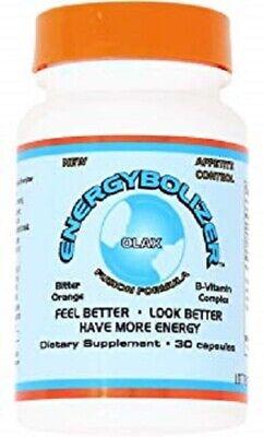 Energybolizer Fusion Orange gel capsules 10 pills herbal weight loss