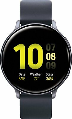 Samsung Galaxy Watch Active 2 SM-R825U 44mm Stainless Steel Black LTE Smartwatch