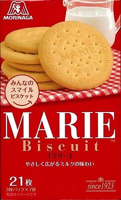 New Morinaga Marie 21 sheets biscuits cookies Made in Japan Free Postage F/S