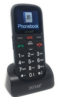 Big Button Mobile Phone GSP-120 Seniors OAP  Sim Free SOS Button Unlocked