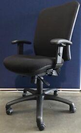 Black Pheonix Havannah Operators Swivel Chair