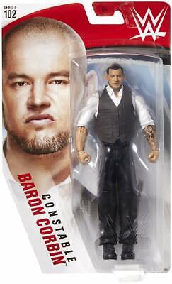 WWE Constable Barone Corbin Mattel Serie Basic 102 Wrestling Action Figure Nuovo