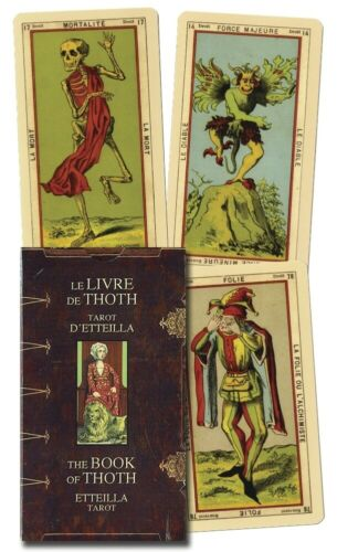 Book of Thoth - Etteilla Tarot Deck Lo Scarabeo New Sealed