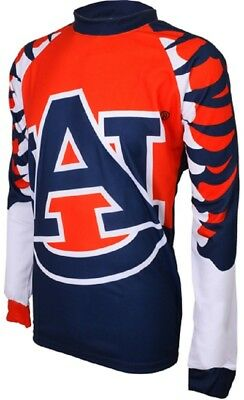 Auburn Cycling Jersey - NCAA Men's Adrenaline Promotions Auburn University Tigers MTB Cycling Jersey