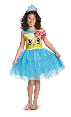 Girls Shopkins Classic Cupcake Queen Costume](Girls Cupcake Costume)