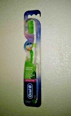 Oral-B ULTRATHIN GREEN Sensitive Toothbrush | EXTRA SOFT| GENTLE CLEAN - 1 (Extra Gentle Toothbrush)