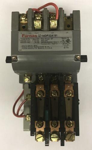 14DP32AA81, Siemens (Furnas) Motor Starter. ***FREE SHIPPING***