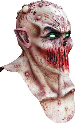 Halloween BLOODY DEADLY SILENCE Adult Latex Deluxe Mask Ghoulish Productions  (Dead Silence Mask)