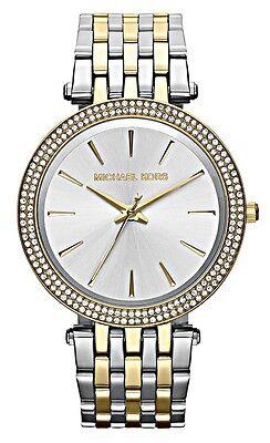 Michael Kors Ladies Darci Two Tone Watch - MK3215