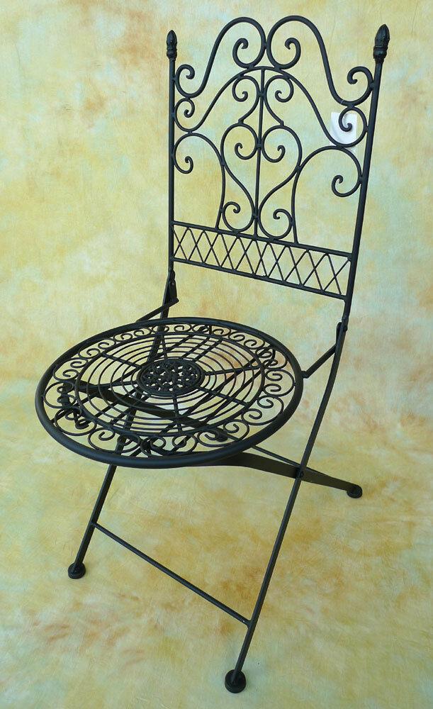 gartenstuhl biergarten stuhl eisen antik look klappstuhl 0943768 b eur 62 54 picclick at. Black Bedroom Furniture Sets. Home Design Ideas