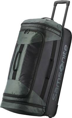 "Samsonite - Andante 2 30"" Wheeled Duffel Bag - Black/Moss Green"