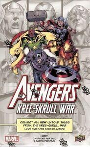 2011 Marvel The Avengers Kre-Skull War Box - 24 packs