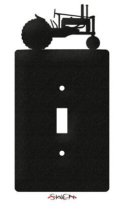 SWEN Products JOHN DEERE TRACTOR Black Light Switch Plate Covers