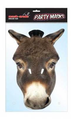 Esel Tier Maske Animal Mask