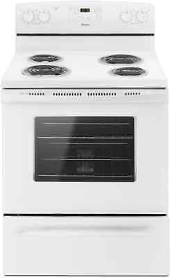 New Amana Whirlpool Electric Range Coil Top Acr4303mew Local Pickup Only