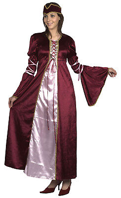FANCY DRESS RENAISSANCE  LADY PRINCESS SIZE 10-14 - Renaissance Fancy Dress Kostüm