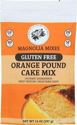 Magnolia Mixes Gluten Free Orange Pound Cake Mix 14oz (397 g) Chocolate Pound Cake Mix