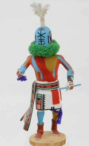 """Hopi Rattle Kachina, by Stacy Talahytewa c. 1990 11"""""""