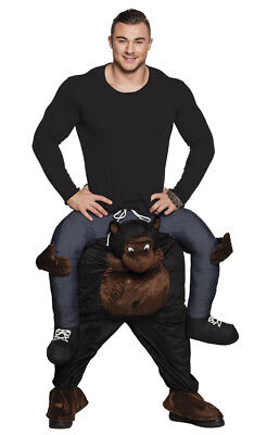 Huckepack-Kostüm Lustiger Affe