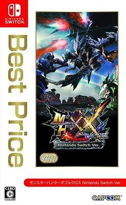 Nintendo Switch Monster Hunter XX Double Cross Best Price Japan