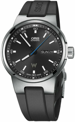 Oris Williams F1 Team Day Date Automatic Men's 42mm Watch 735 7716 4154 42450 - watch picture 1