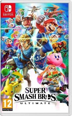 Super Smash Bros. Ultimate Nintendo Switch Spiel *NEU OVP*