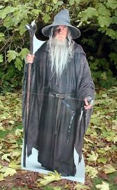 gandalf wizard lord of the rings standee lord of the rings game lord of the rings wizard standee