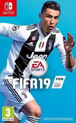 Fifa 19 Nintendo Switch Spiel *NEU OVP*