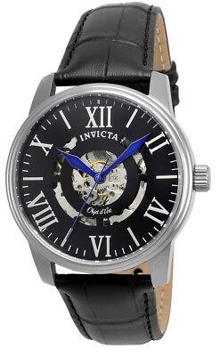 Invicta Objet d' Art 22600 Men's Black Roman Numeral Automatic Analog Watch