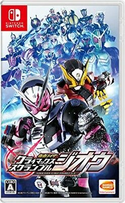 Nintendo Switch Kamen Rider Climax Scramble Zi-O BANDAI NAMCO In-stock JPN ver.