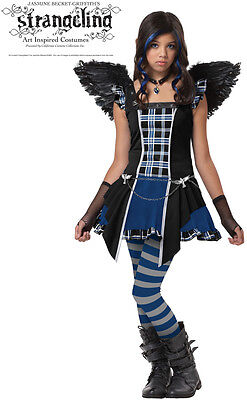 Strangeling Raven Bird Girls Tween Costume