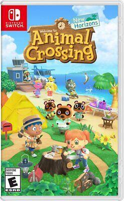 Animal Crossing: New Horizons -- Standard Edition (Nintendo Switch, 2020) New