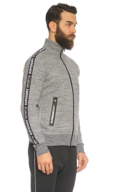 Save 50/% Black Superdry Hoodie Hybrid Sport Training Jacket Clearing Stock