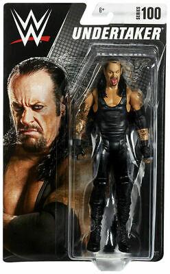 Undertaker WWE Mattel Basic Series 100 Action Figure NEW