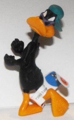 Daffy Duck with Purple Sunglasses Figurine Looney Tunes Plastic Miniature (Ducks With Sunglasses)