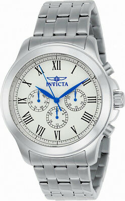 Invicta Specialty 21657 Mens Roman Numeral Day Date 24 Hour Analog Watch