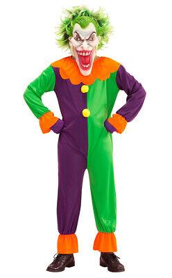 Evil Joker Kinderkostüm NEU - Jungen Karneval Fasching Verkleidung Kostüm