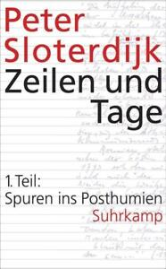 Zeilen und Tage 01, Peter Sloterdijk