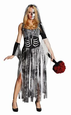 Rub - Damen Kostüm Zombiebraut Brautkleid zum Zombie Halloween