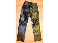 TT Leather Motorcycle Trousers