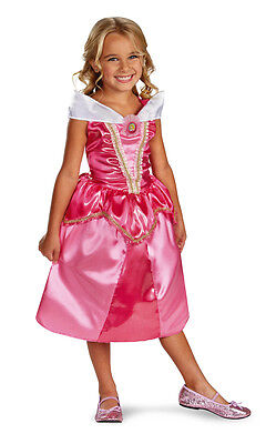 Aurora Sparkle Classic Sleeping Beauty Disney Toddler Child Costume