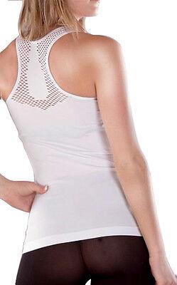 Muskelshirt Trägershirt Shirt Tank Top Lochmuster Sportshirt Fitness Yoga