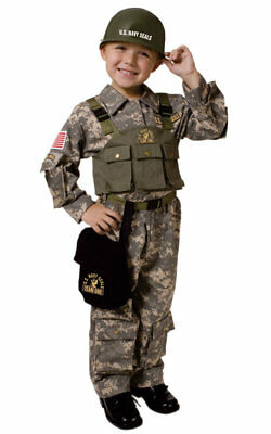 Navy Seal Army Special Forces Military Toddler Child Costume (Navy Seal Costume)