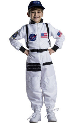 NASA Astronaut Space Suit White Toddler Child - White Astronaut Costume